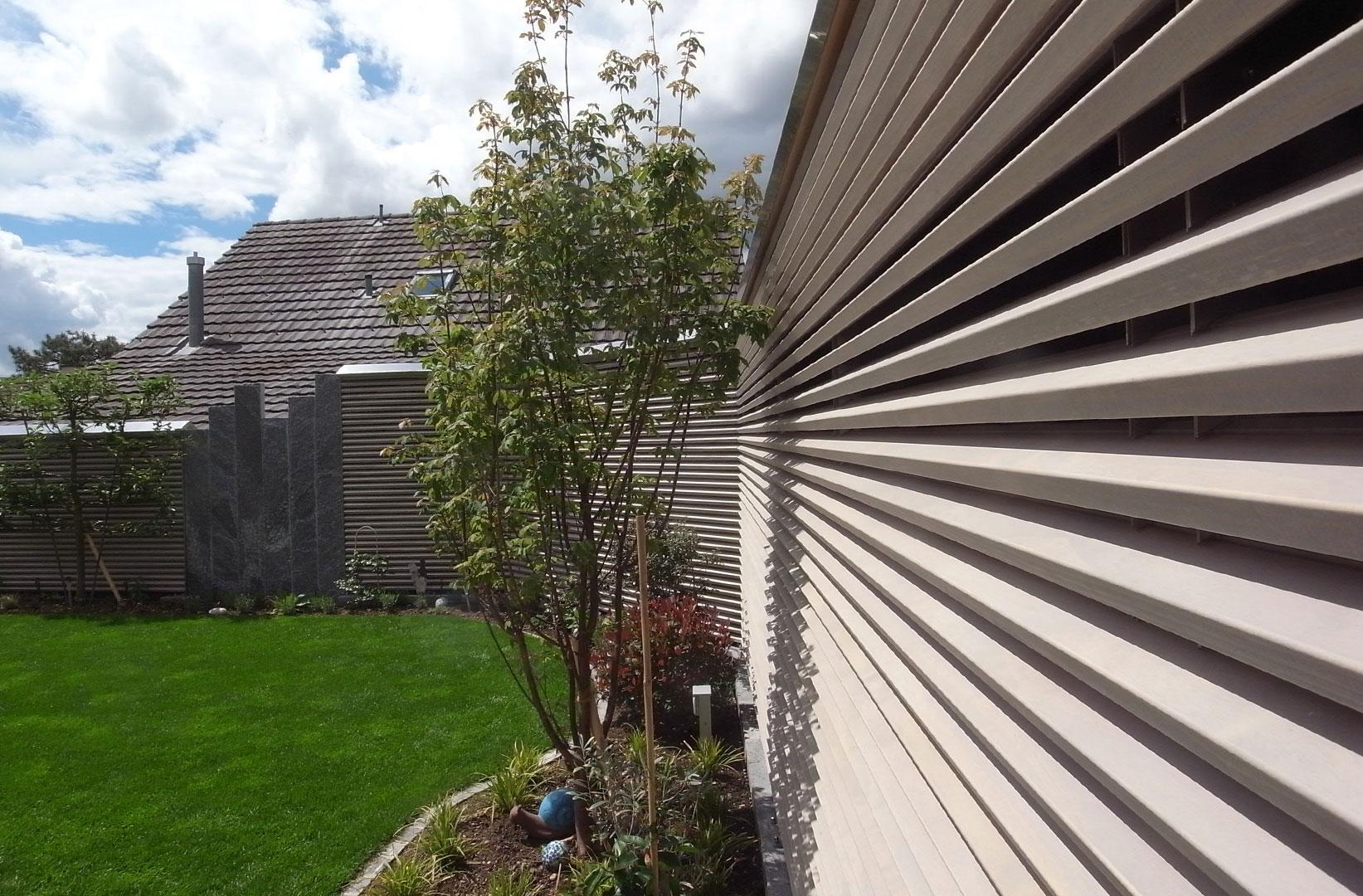 ruedersäge ag – für gartenbauer. schwellen, gartenholz, sichtschutz
